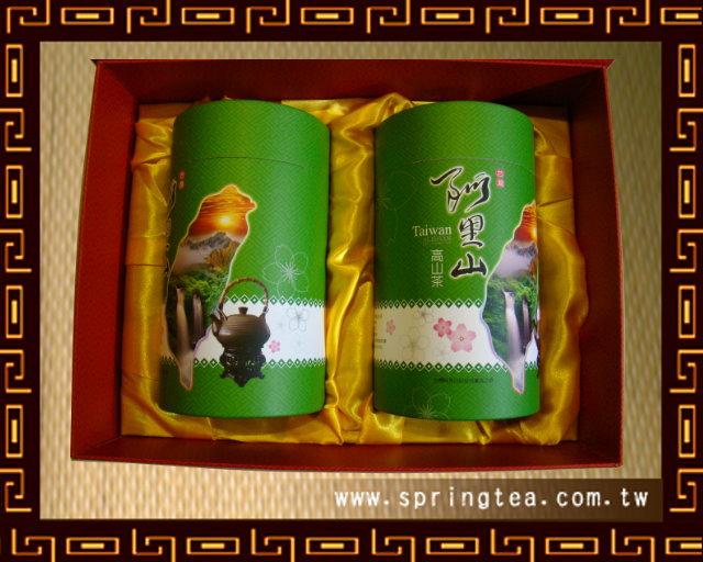 阿里山高山金萱(奶香)禮盒