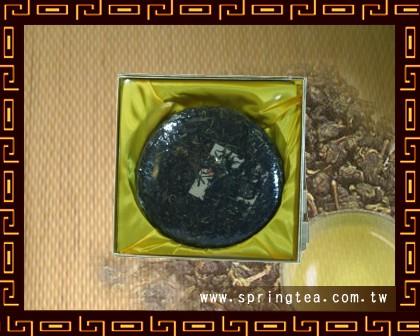 陳年普洱茶餅(生餅)