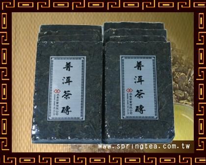 陳年普洱茶磚(熟)